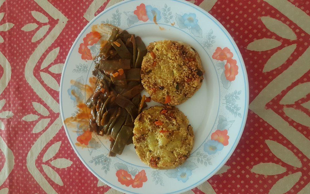 Tortitas de Quinoa