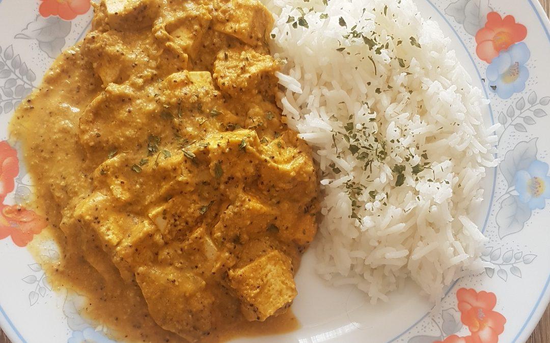 Tofu Pasanda, una receta tridosha