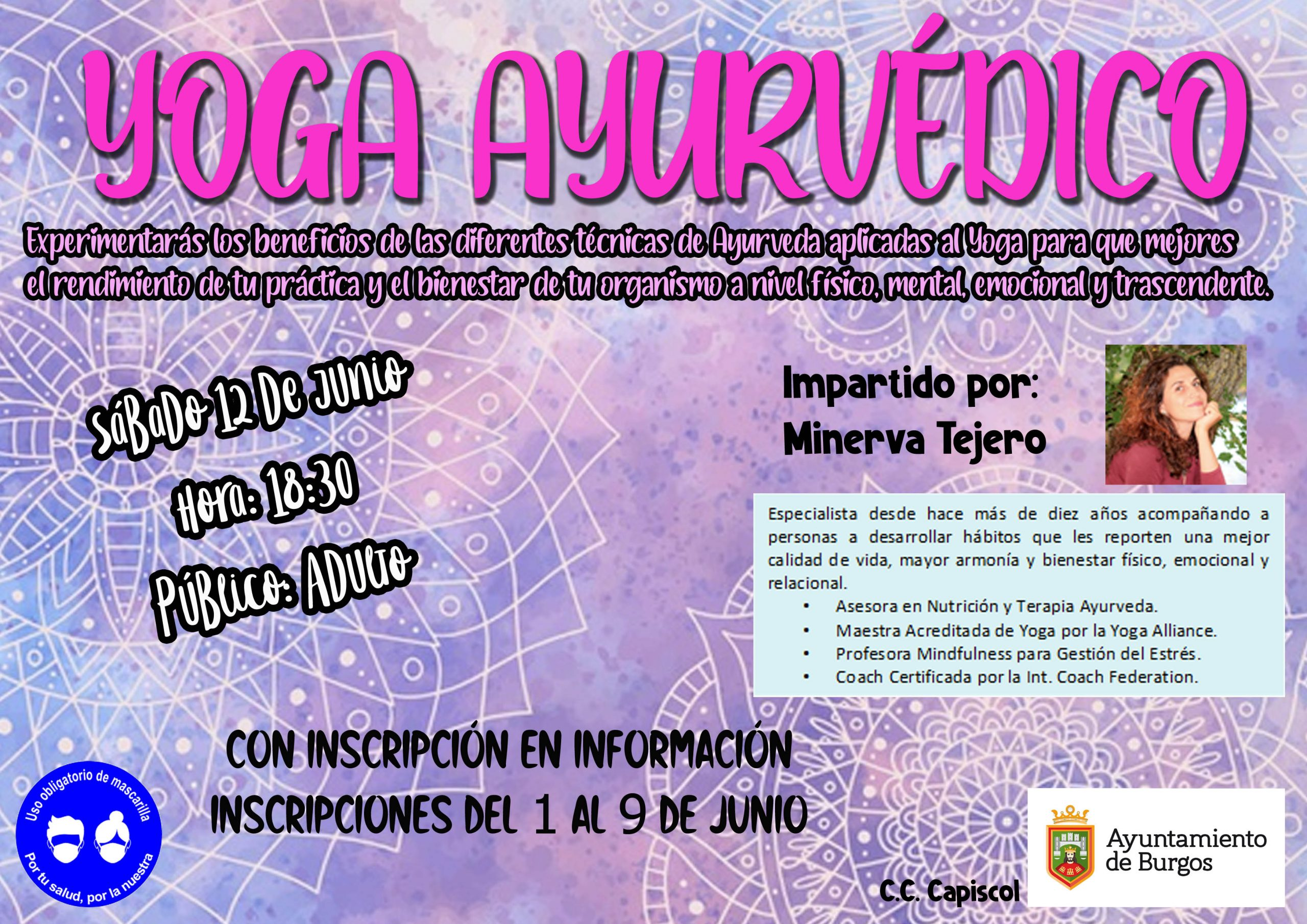 Especialista en Consultas Ayurveda, Talleres y Formaciones Ayurveda, Yoga Ayurvédico, Mindfulness y Empoderamiento Femenino.
